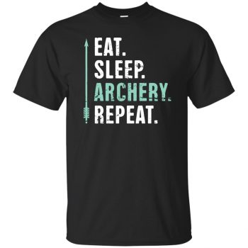 Eat Sleep Archery Repeat - black
