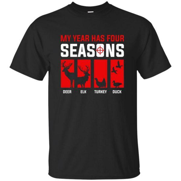 Four Seasons Of Hunting - black