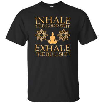 Inhale & Exhale - black