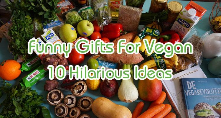 funny gifts for vegans