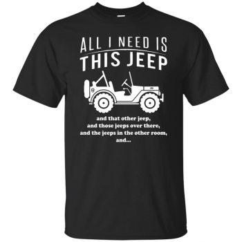 All i need is this jeep - black
