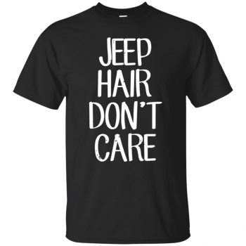 Jeep Hair Don't Care - black