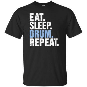 Eat Sleep DRUM Repeat - black