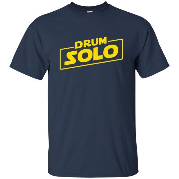 DRUM SOLO t shirt - navy blue