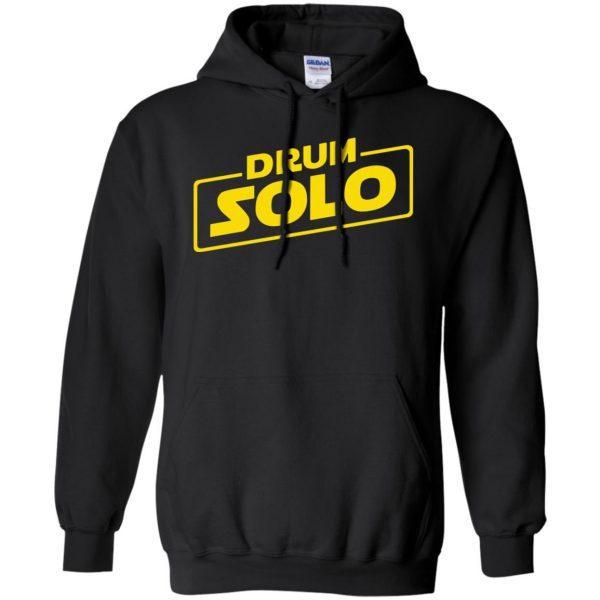 DRUM SOLO hoodie - black