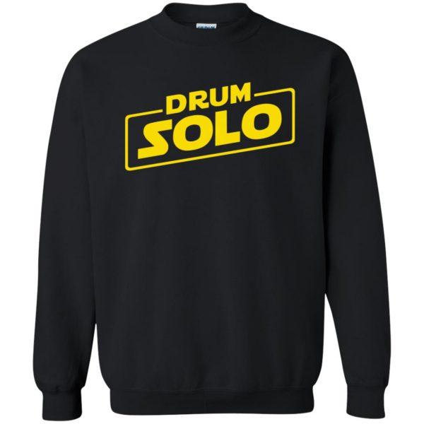 DRUM SOLO sweatshirt - black