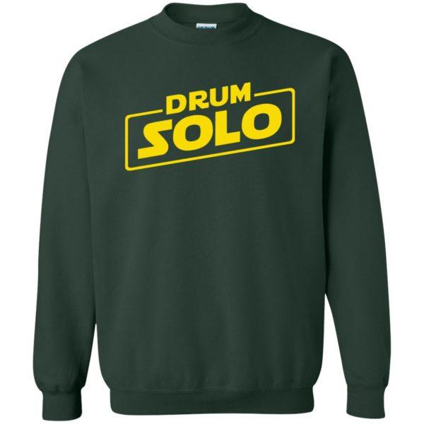 DRUM SOLO sweatshirt - forest green