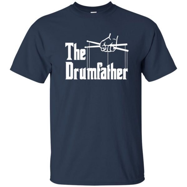 The Drumfather t shirt - navy blue