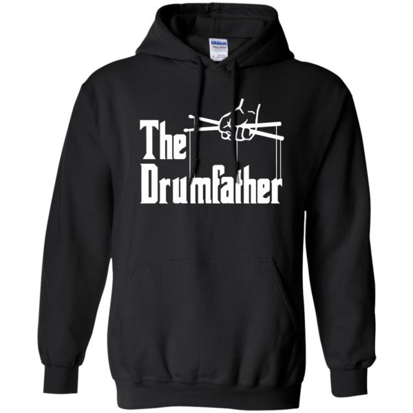The Drumfather hoodie - black
