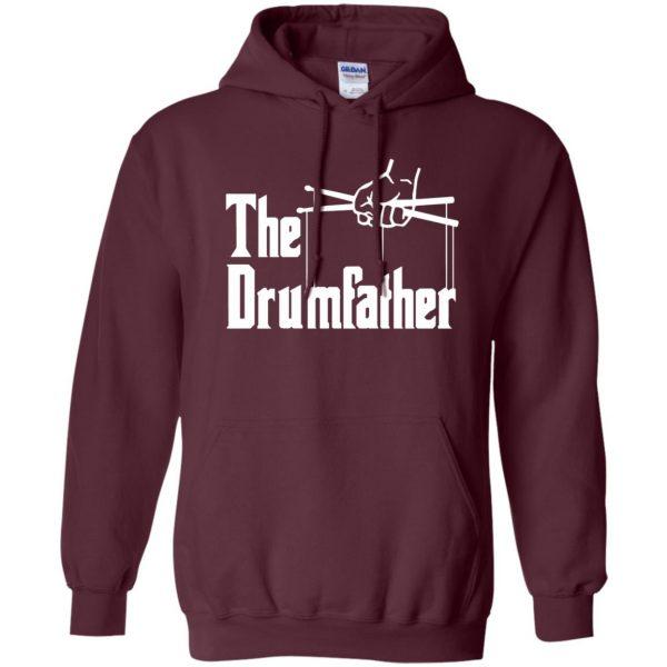 The Drumfather hoodie - maroon