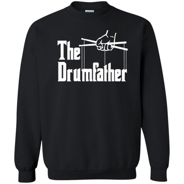 The Drumfather sweatshirt - black