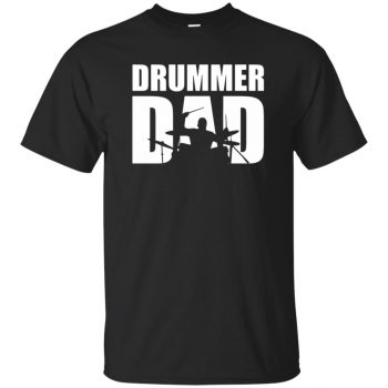 Drummer Dad - black