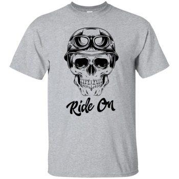 skull biker - sport grey