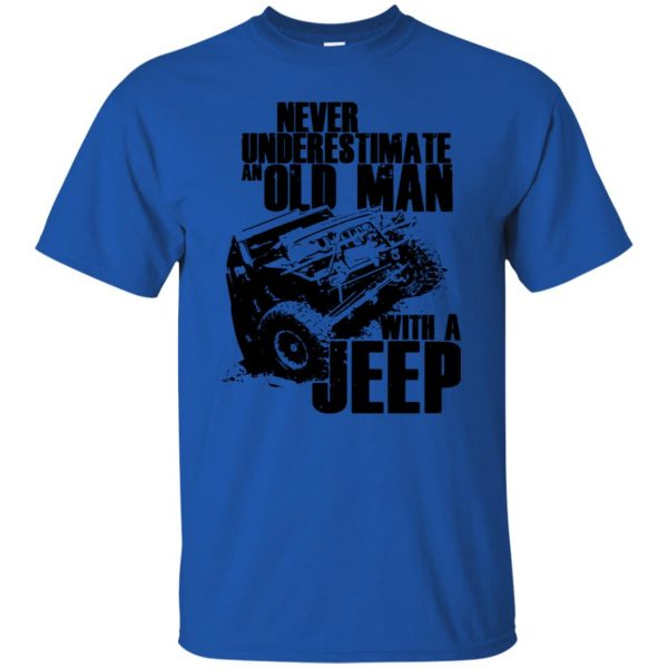 vintage jeep t shirts t shirt - royal blue