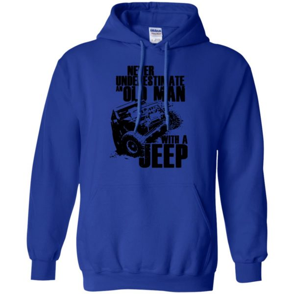 vintage jeep t shirts hoodie - royal blue
