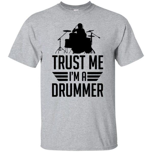 Trust Me I'm A Drummer - sport grey