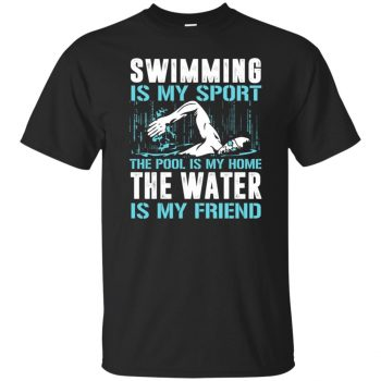 Swimming is my sport - black