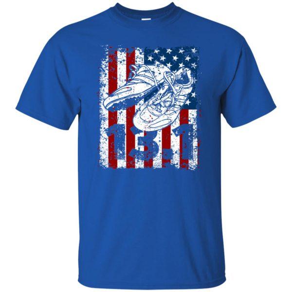 13.1 half marathon shirts t shirt - royal blue