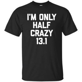 funny half marathon - black