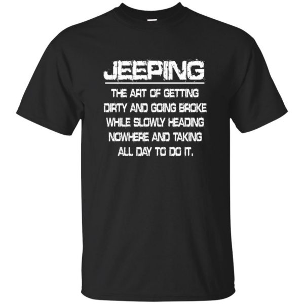 Jeeping - Definition - black
