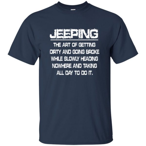 Jeeping - Definition t shirt - navy blue