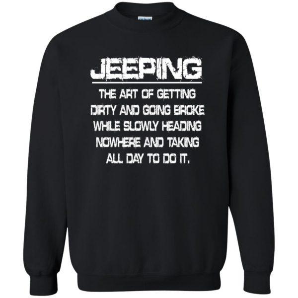 Jeeping - Definition sweatshirt - black