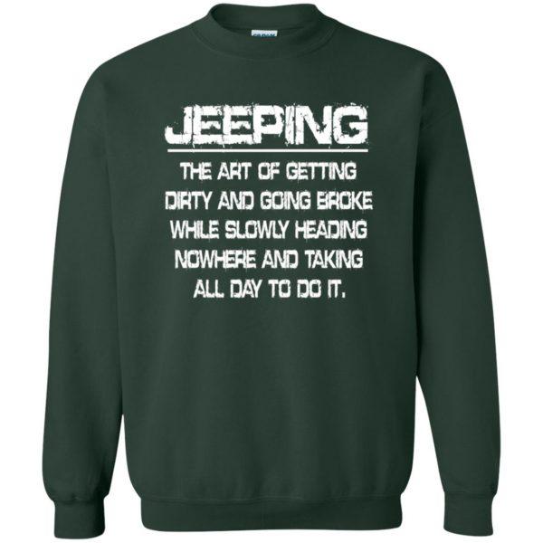 Jeeping - Definition sweatshirt - forest green
