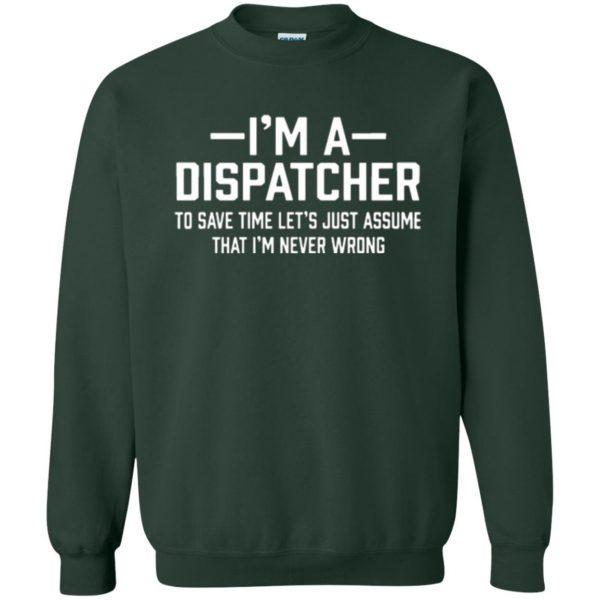 dispatcher t shirts sweatshirt - forest green
