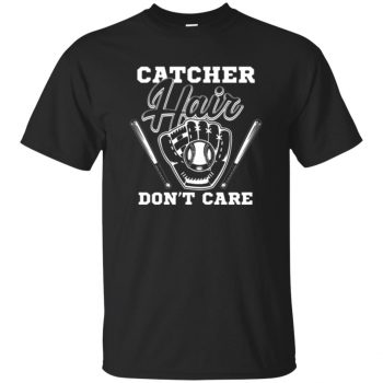 softball catcher - black