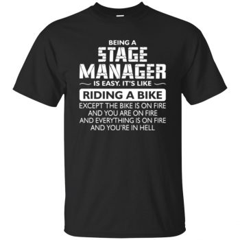 stage manager - black
