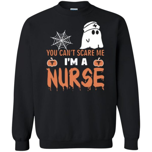 nurse halloween shirt sweatshirt - black