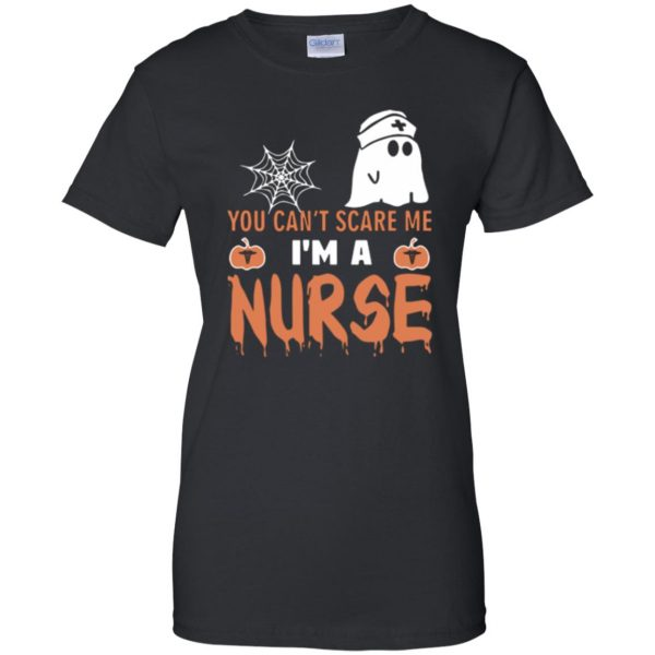 nurse halloween shirt womens t shirt - lady t shirt - black