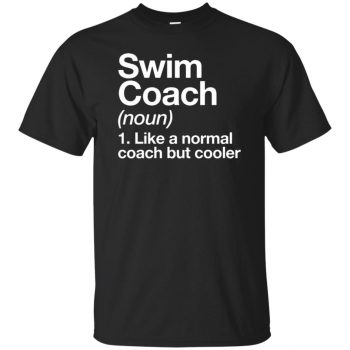 Swim Coach - black