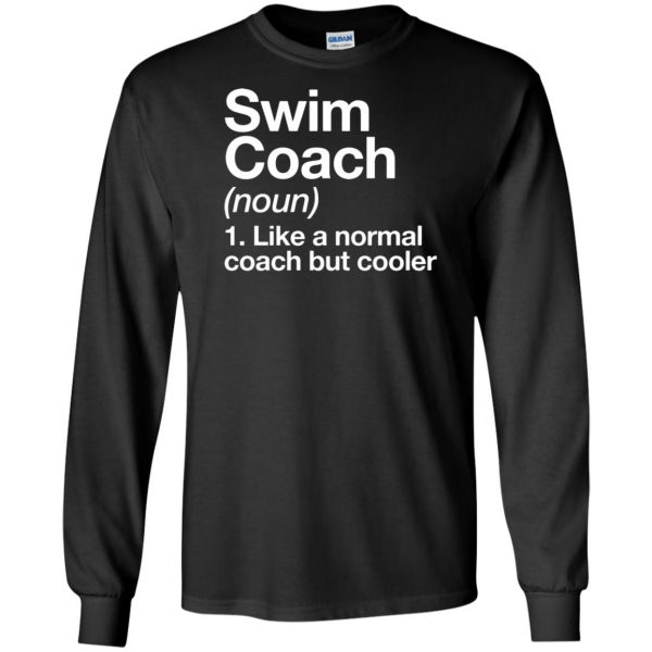 Swim Coach long sleeve - black