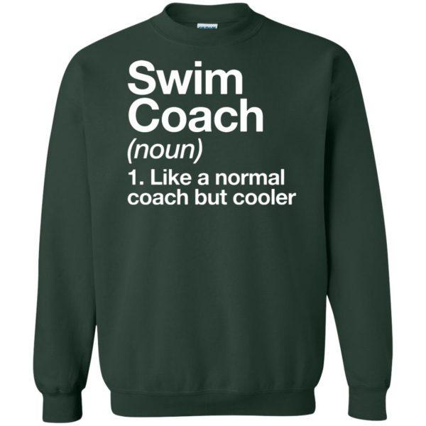 Swim Coach sweatshirt - forest green
