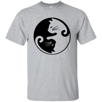 yin yang cat - sport grey