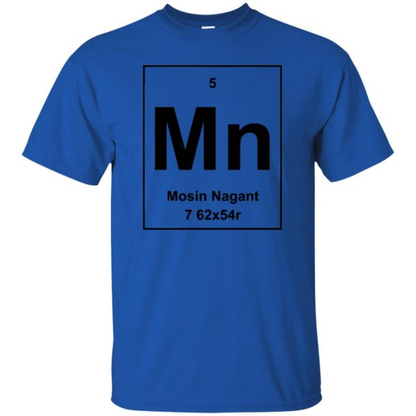 mosin nagant shirt t shirt - royal blue