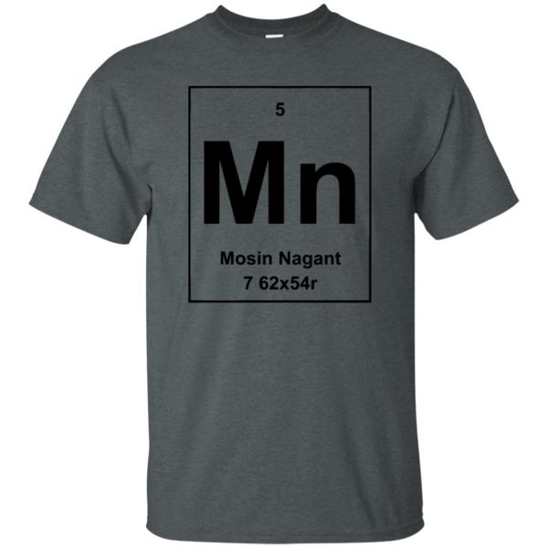 mosin nagant shirt t shirt - dark heather