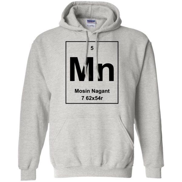 mosin nagant shirt hoodie - ash