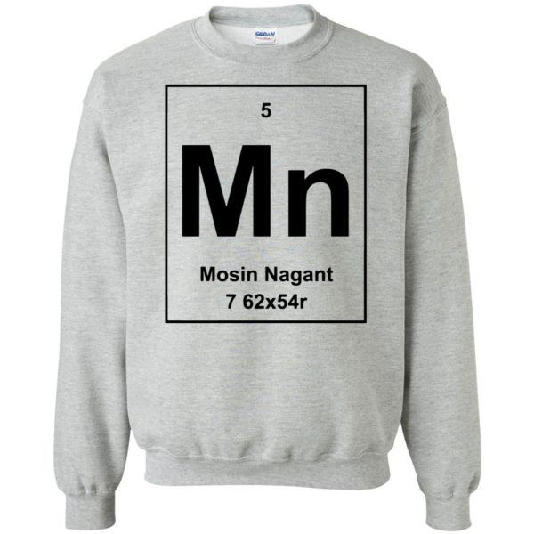 mosin nagant shirt sweatshirt - sport grey