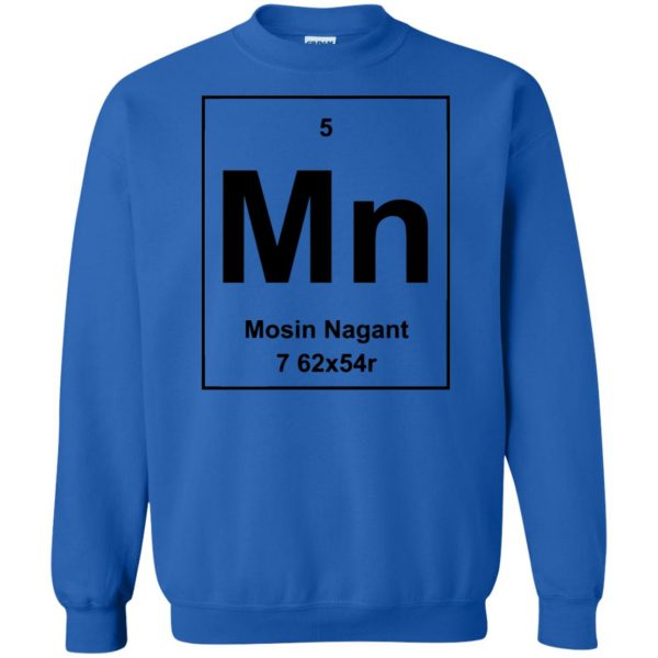 mosin nagant shirt sweatshirt - royal blue