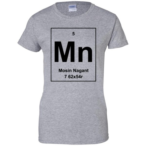 mosin nagant shirt womens t shirt - lady t shirt - sport grey