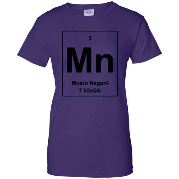 mosin nagant shirt womens t shirt - lady t shirt - purple