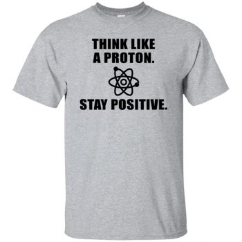 stay positive - sport grey