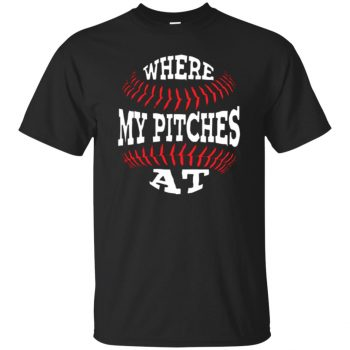 where my pitches at - black