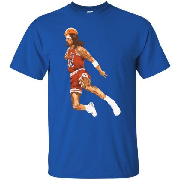 jumpshot jesus t shirt - royal blue