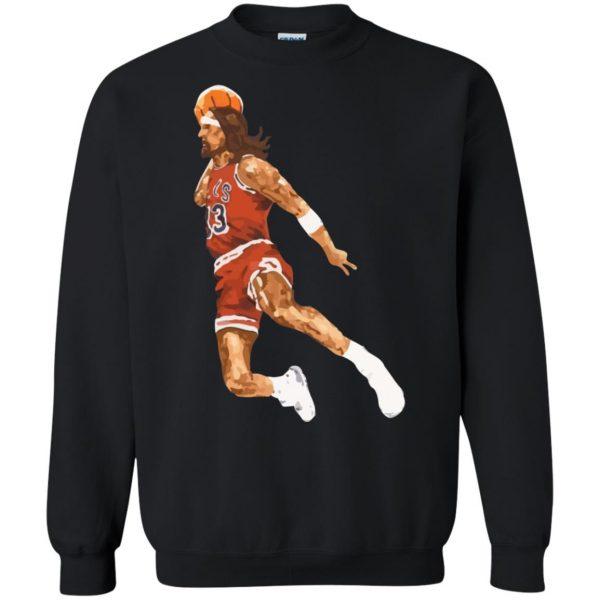 jumpshot jesus sweatshirt - black