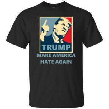 make america hate again shirt - black