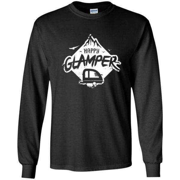 happy glamper long sleeve - black