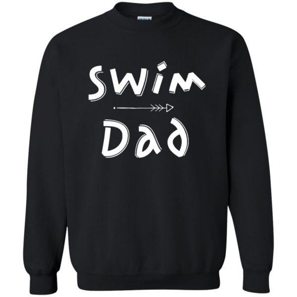 Swim Dad sweatshirt - black